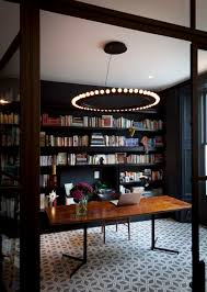 Home Library Lighting Design by Source Suzy Hoodless If I Had A Office Home Library This Would Be