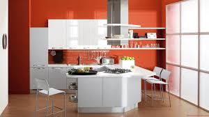 orange kitchen walls with white cabinets rail like we wanted dark