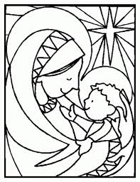 impressive stained glass coloring page 47 5030