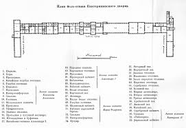 Empire State Building Floor Plans First Floor Plan Catherine Palace Yekaterininskiy Dvorets