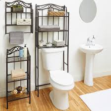 Bathroom Storage Shelves Over Toilet by Chapter Bathroom Storage Wall Shelf Oil Rubbed Bronze Finish
