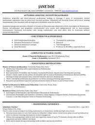 Financial Resume Sample by Top Finance Resume Templates U0026 Samples