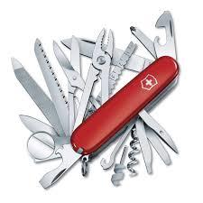 victorinox swiss army knife swisschamp in jelly blue amazon co