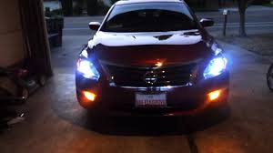 nissan altima 2013 accessories 2013 nissan altima 8000k low beam hid youtube