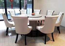 dining tables 72 inch round dining table with lazy susan 8