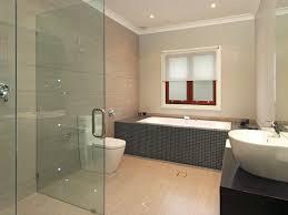 bathroom lovable contemporary bathroom idea with square grey