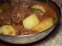Aloo Gosht curry