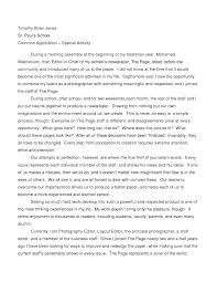 Essay Cover Letter Examples Of Good College Application Essays Examples     College  essay examples