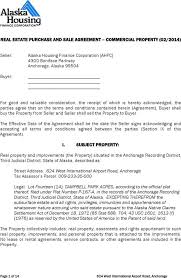 alaska real estate purchase and sale agreement form download