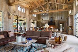 Exposed Beam Ceiling Living Room by Photos Cornerstone Architects Hgtv