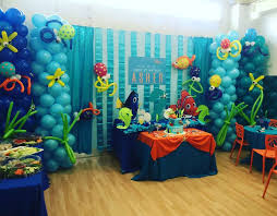 Finding Nemo Centerpieces by Finding Nemo Theme Birthday Party Ideas Finding Nemo Birthday