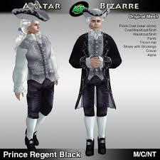 18th Century Halloween Costumes Marketplace Ab 18th Century Prince Regent Costume Black