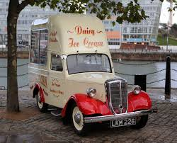 Vintage Ford Ice Cream Truck - vintage jowett bradford ice cream van at liverpool albert dock