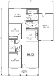 cottage style house plan 3 beds 2 baths 1152 sq ft plan 423 57