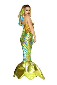King Neptune Halloween Costume Amazon Roma Costume Women U0027s 2 Piece Siren Sea Costume