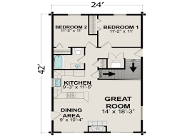 Small 2 Bedroom Cabin Plans 600 Square Foot House Plans With Loft Homes Zone