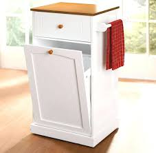Kitchen Carts On Wheels by Kitchen Kitchen Cart With Trash Bin Serving Carts On Wheels