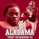 #3 Trent Richardson Alabama