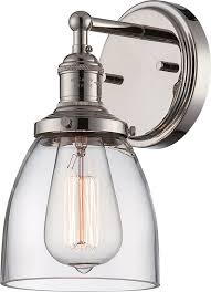 nuvo lighting 60 5414 vintage incandescent one light wall sconce