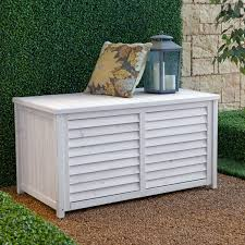 front opening outdoor storage box