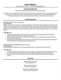 Sample Teacher Assistant Resume by Teacher Assistant U003ca Href U003d