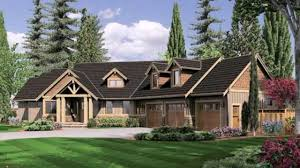 House Plans With 3 Car Garage by Ranch Style House Plans Angled Garage Youtube