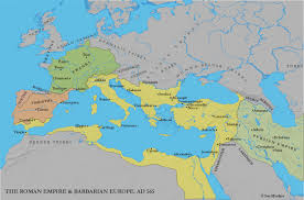 Map Of Western Europe by Western Europe And Byzantium C 500 1000 Ce