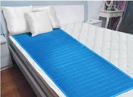 amazon com new luxury cool gel mattress pad 24 u201dx60 u201d x large