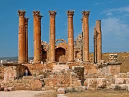 Jordan Country Map Jordan Attractions And Landmarks Wondermondo