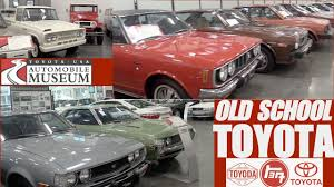 toyota cars usa classic toyota cars at toyota usa automobile museum youtube