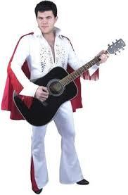 Mens Halloween Costumes Amazon Elvis Presley Grand Heritage Costume White Jumpsuit Impersonator