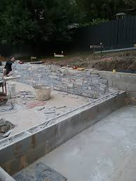 Stone Cladding For Garden Walls by Job Of The Month U2013 Upwey Project