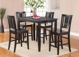 Five Piece Dining Room Sets Red Barrel Studio Lightner 5 Piece Counter Height Dining Set