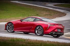 lexus lc convertible 2017 hear the 2018 lexus lc 500 and its epic exhaust note automobile