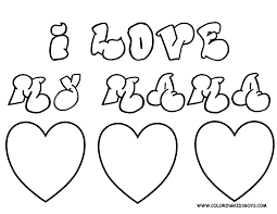 i love you mom coloring pages i love you mom coloring page mama