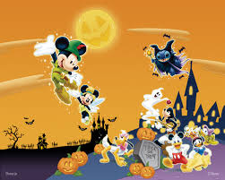 orange halloween hd background disney halloween hd wallpapers backgrounds