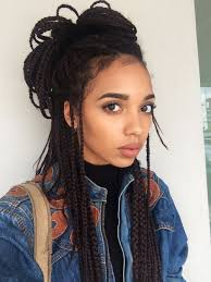 ideas about Micro Braids Hairstyles on Pinterest   Box