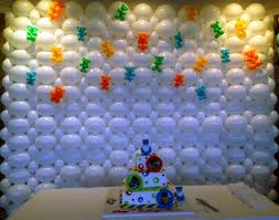 1st Birthday Decoration Ideas At Home Enhancing Interior Room Decoration Idea For Birthday Party With