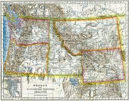 Unite States Map by Northwestern United States Map 1883 Stock Photo 507874076 Istock