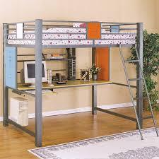 bedrooms for girls with bunk beds enjoy loft bunk bed with desk modern bunk beds design