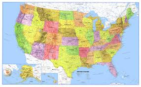 Large Map Of Usa by Maps Usa Map Oceans Physical Maps Of United States Central United