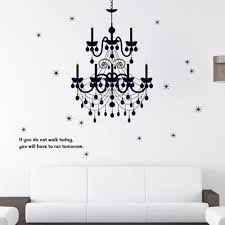 compare prices on fancy wall decals online shopping buy low price 160 130cm grand chandelier lighting fancy wall decal vinyl art words sticker art bedroom classy