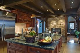 Kitchen Color Ideas With Cherry Cabinets Kitchen Shelving Kitchens With Cherry Cabinets Grey Double Bowl