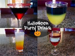 halloween party drinks alcoholic u0026 non alcoholic youtube