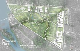 process park site plan texas architecture utsoa
