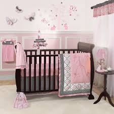 popular pink and brown crib bedding best pink and brown crib