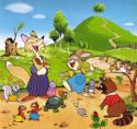 กระต่ายกับเต่า - The Rabbit and The Tortoise - นิทานอีสป | นิทาน ...