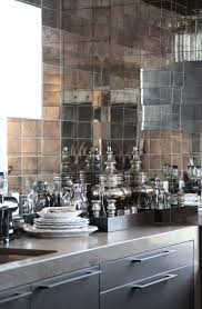 kitchen kitchens seashore glass and mirror back mirrored kitchen