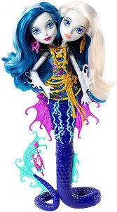 monster scarrier reef peri u0026 pearl serpentine doll