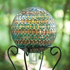 Gazing Ball Fountain Bird Brain Petals Marrakech Gazing Ball Free Shipping Today